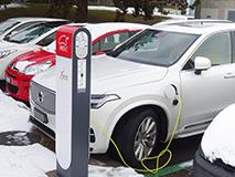 bornes recharge véhicule électrique